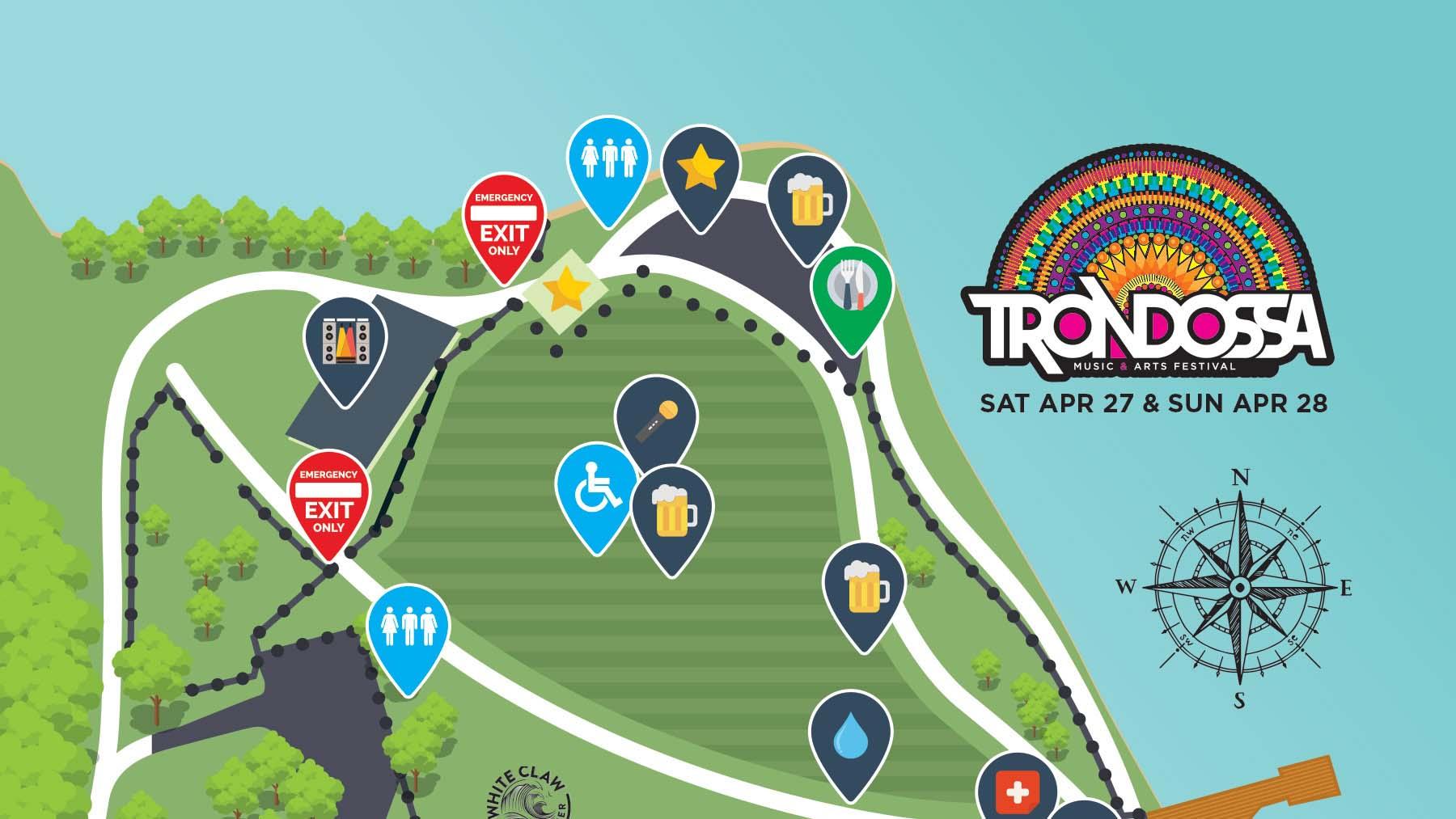 2019 Festival Map